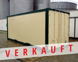 Plywood Container 20'